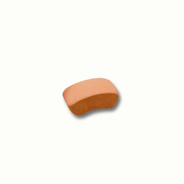 Teifoc Bogenstein, halbrund, aus Ton