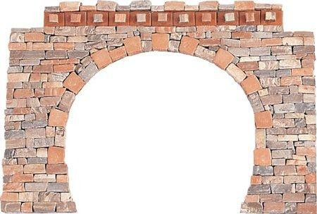 Domus Kits Steinbausatz Tunnelbogen H0, Maßstab 1:87