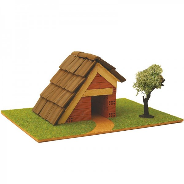 Steinbausatz Haus Kid 1, Ziegelbausatz zum Mauern