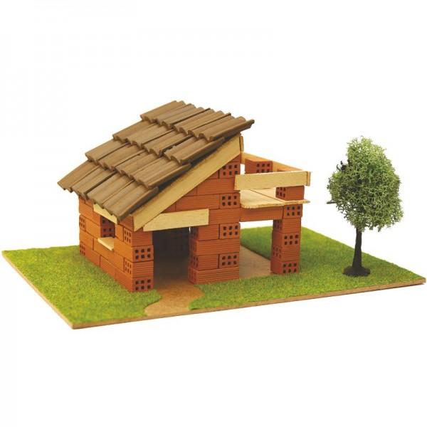 Steinbausatz Haus Kid 3, Ziegelbausatz zum Mauern