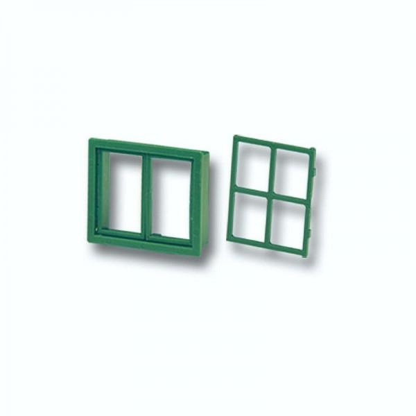 Teifoc Fenster für Modellgebäude, Kunststoff