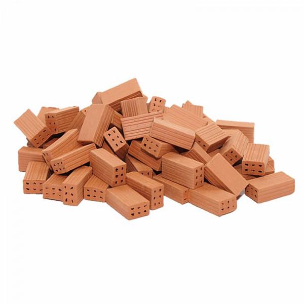 Miniaturziegel, Mauersteine aus Ton, M 1:20, 150 Stück
