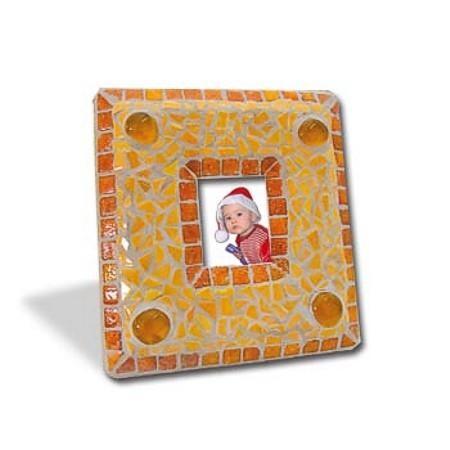 Mosaic Bausatz Bilderrahmen, orange