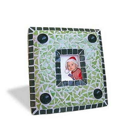 Mosaic Bausatz Bilderrahmen, grün