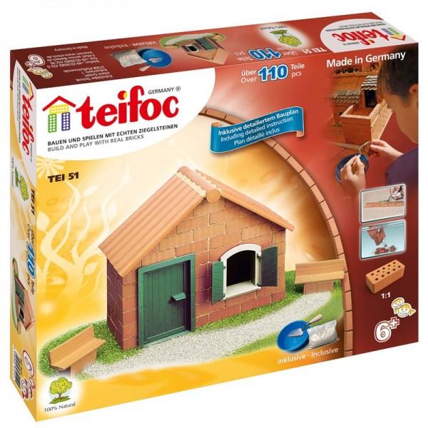 Teifoc Ziegelbausatz, Steinbausatz Startpackung