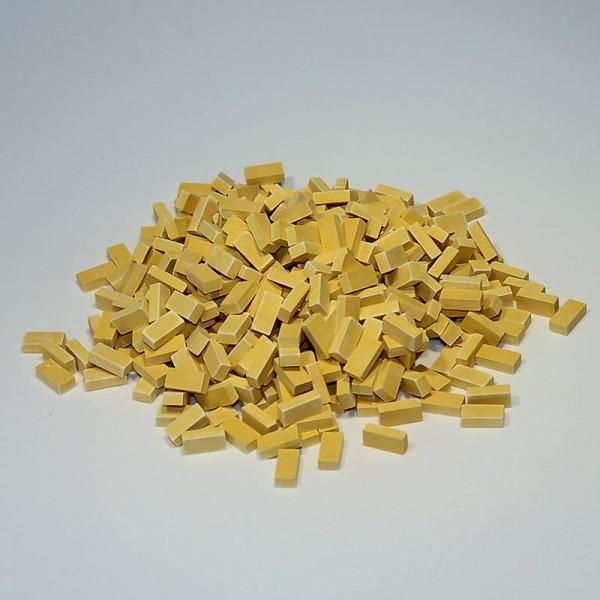 Miniaturbacksteine, Ziegelsteine M 1:24 - beige hell, 400 Stk.